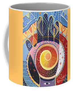 May You Always Find Your Way Coffee Mug by Helena Tiainen