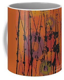 Coffee Mug featuring the painting Maya 1 by Mini Arora