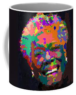 Maya Angelou - Abstract Coffee Mug