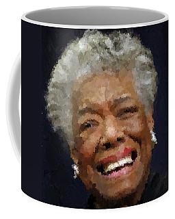 Maya Angelou Portrait Coffee Mug