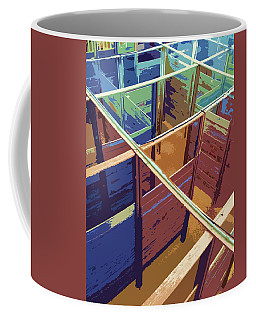 Labirinto Coffee Mug by Julio Lopez