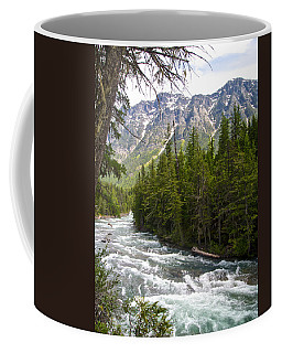 Mcdonald Creek In Glacier Np-mt Coffee Mug