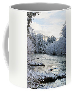 Coffee Mug featuring the photograph Mckenzie River by Belinda Greb