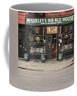 Mcsorley's Old Ale House Coffee Mug by Doc Braham