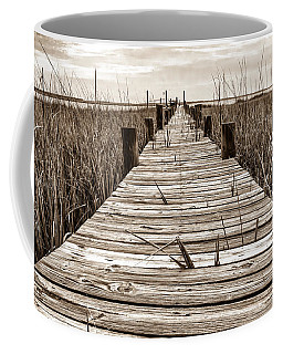 Mcteer Dock - Sepia Coffee Mug
