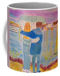 Me And You Coffee Mug by Meryl Goudey
