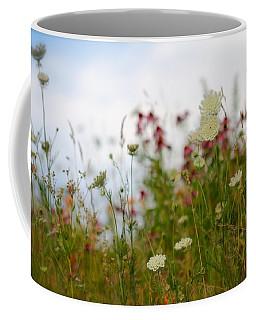 Meadow Flowers Coffee Mug by Tracy Male