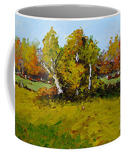 Meadow In Autumn Coffee Mug