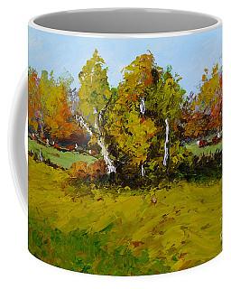 Meadow In Autumn Coffee Mug