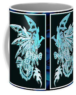 Mech Dragons Diamond Ice Crystals Coffee Mug