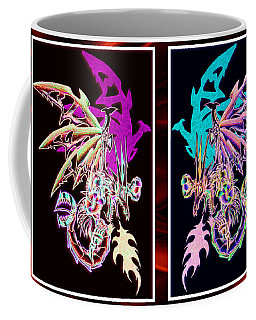 Mech Dragons Pastel Coffee Mug