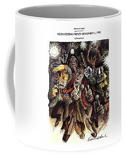 Media Feeding Frenzy: November 4 Coffee Mug