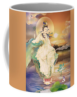 Medicine-giving Kuan Yin Coffee Mug by Lanjee Chee