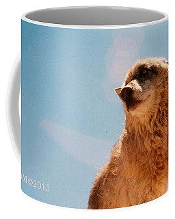 Coffee Mug featuring the photograph Medicine Wolf by Deborah Moen