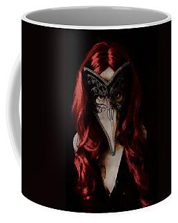 Coffee Mug featuring the digital art Medico Della Peste by Galen Valle
