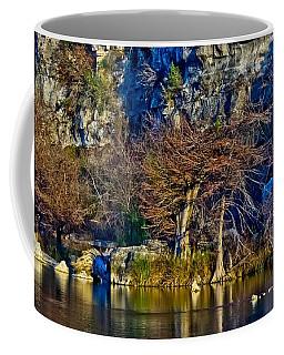 Medina River At Comanche Cliffs Coffee Mug