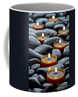 Meditation Candles Coffee Mug