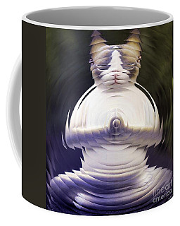 Meditation Kitty Coffee Mug