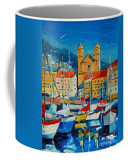 Mediterranean Harbor Coffee Mug