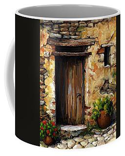 Mediterranean Portal Coffee Mug