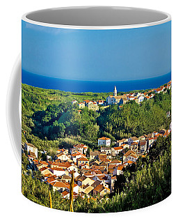 Mediterranean Town Of Susak Croatia Coffee Mug