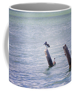 Coffee Mug featuring the photograph Meeting Place by Erika Weber