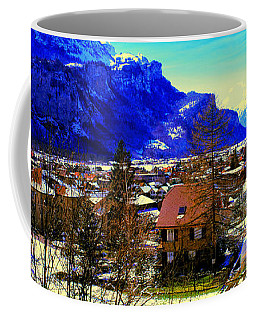 Meiringen Switzerland Alpine Village Coffee Mug