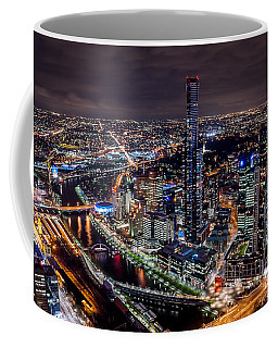 Melbourne At Night IIi Coffee Mug