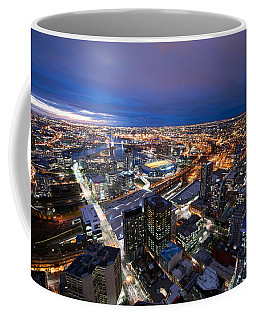 Melbourne At Night Coffee Mug