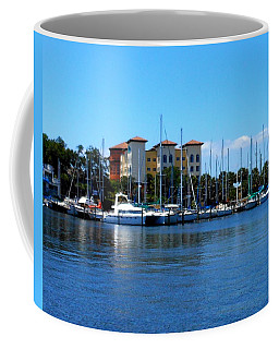 Melbourne Harbor Coffee Mug by Kay Gilley