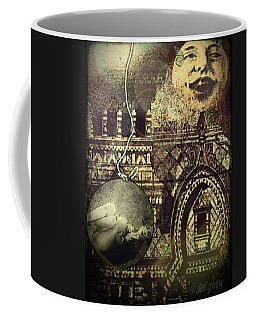 Coffee Mug featuring the digital art Melies Man In The Moon by Delight Worthyn