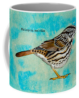 Melospiza Melodia Coffee Mug