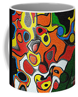 Melted Rubiks Cube Coffee Mug
