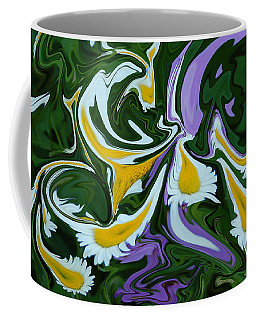 Melting Daisies Coffee Mug by Aimee L Maher Photography and Art Visit ALMGallerydotcom