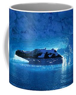 Melting Ice Cave Antarctica Coffee Mug