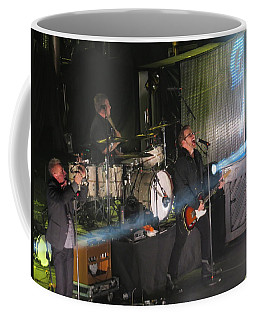 Coffee Mug featuring the photograph Members  Of Newsong by Aaron Martens