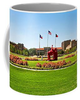 Coffee Mug featuring the photograph Memorial Circle by Mae Wertz
