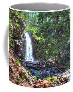 Memorial Falls Logjam Coffee Mug