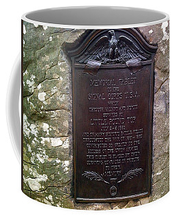 Memorial Tablet To Signal Corps U.s.a. Coffee Mug