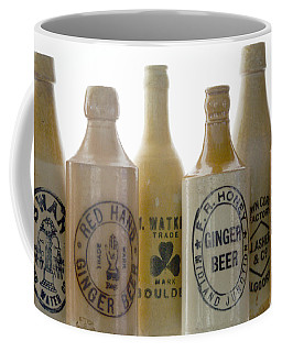 Coffee Mug featuring the photograph Memories In A Bottle by Holly Kempe