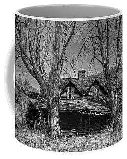 Coffee Mug featuring the photograph Memories Of Ages Past B W by HH Photography of Florida
