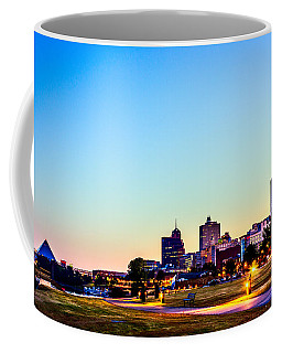 Memphis Morning - Bluff City - Tennessee Coffee Mug by Barry Jones