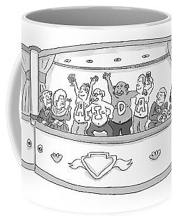 Men At The Opera Coffee Mug