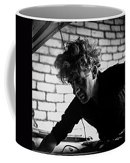 Coffee Mug featuring the photograph Men At Work - Series I by Doc Braham