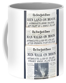 Men Walk On The Moon Coffee Mug
