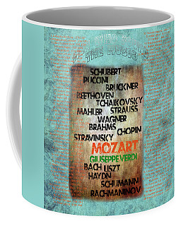 Men Who Found The Music Coffee Mug