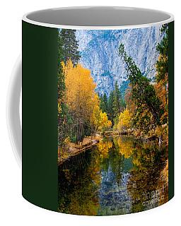 Merced River And Leaning Pine Coffee Mug