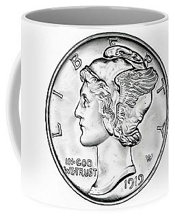 Mercury Coffee Mug by Fred Larucci