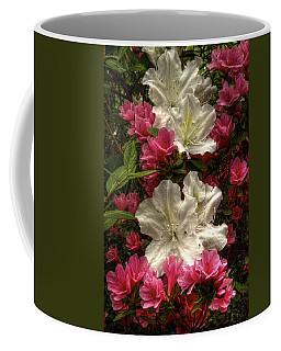 Merging Azaleas  Coffee Mug