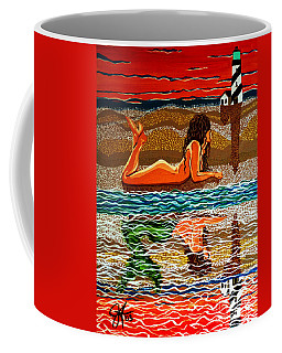 Mermaid Day Dreaming  Coffee Mug